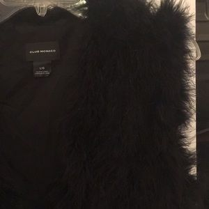 Club Monaco Jackets & Coats - Club Monaco Genuine Feather Vest